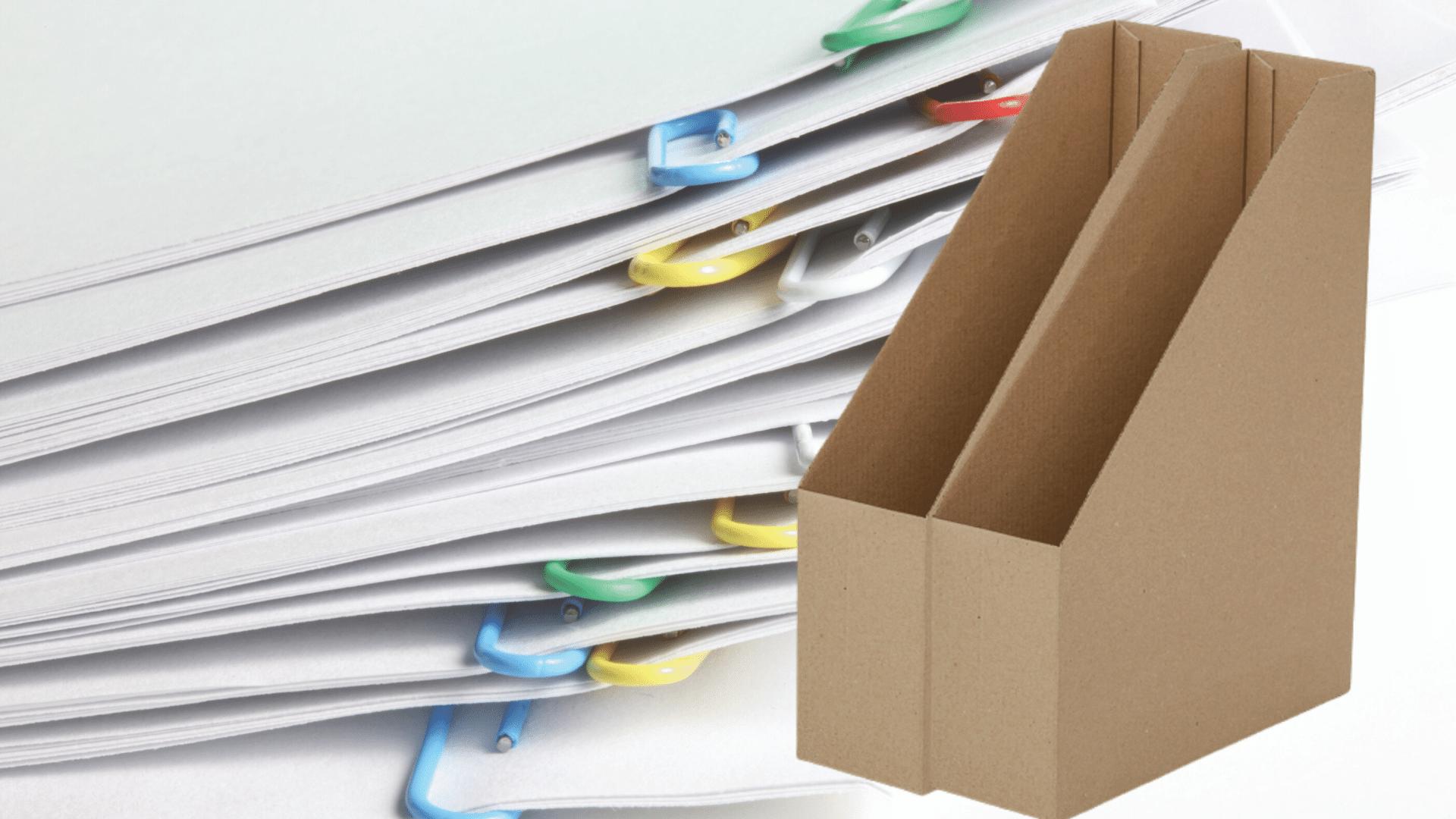 Irattároló dobozok